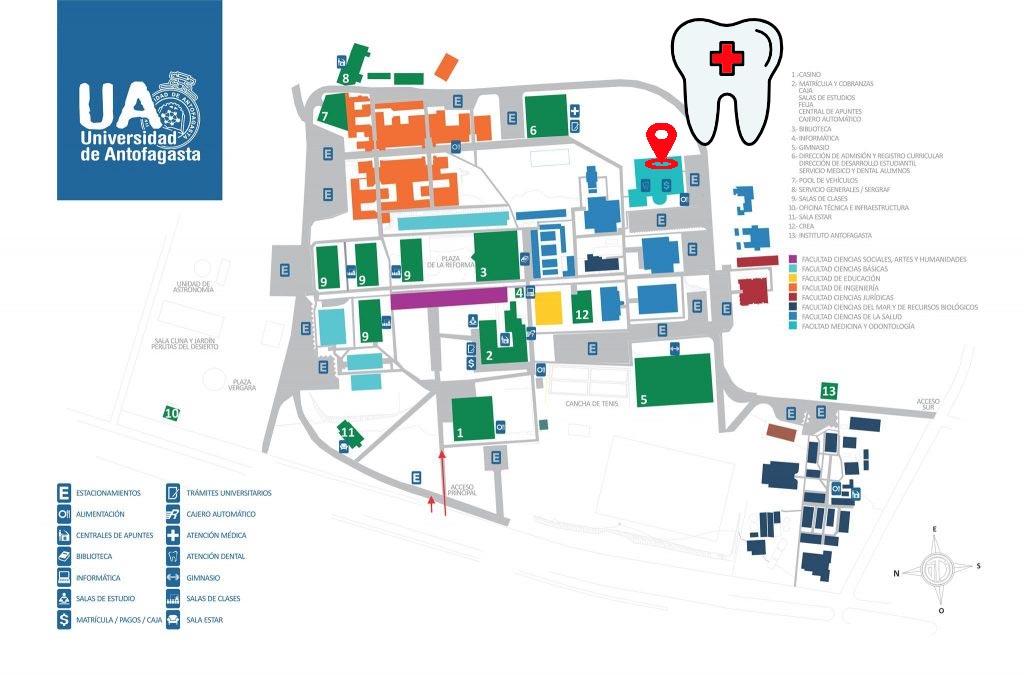 Departamento Odontologia Universidad De Antofagasta Chile